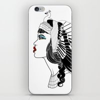 Queen Of The Nile. iPhone & iPod Skin