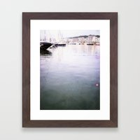Palma Harbour Framed Art Print