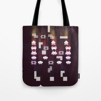 War Of The 8-Bit Worlds Tote Bag