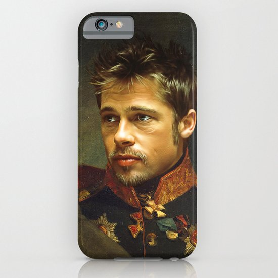 Brad Pitt - replaceface iPhone & iPod Case