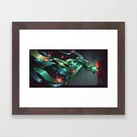 Coming together  Framed Art Print