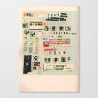 Sextape Canvas Print