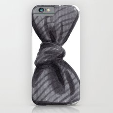 Striped Bow Slim Case iPhone 6s