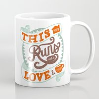 Love & Coffee Mug