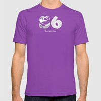 S6 Art Supplies Mens Fitted Tee Ultraviolet SMALL