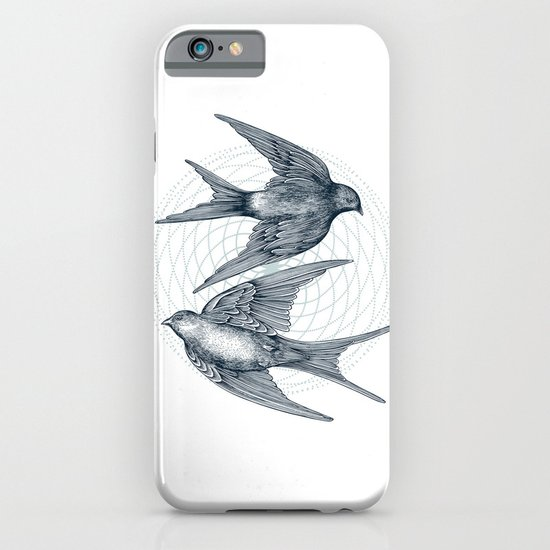 Two Swallows iPhone & iPod Case