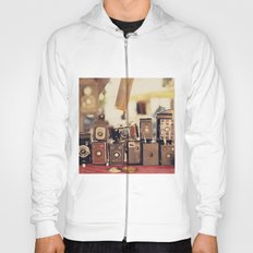 Old Cameras (Vintage and Retro Film Cameras Collection) Hoody