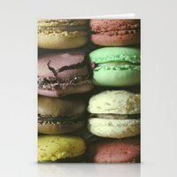 Macarons - Food Kitchen Photography Stationery Cards