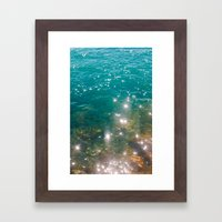 So Much Water Framed Art Print