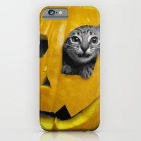 Halloween-Figgy Cat iPhone 6 Slim Case