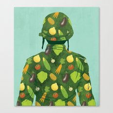 Organic Soldier Canvas Print