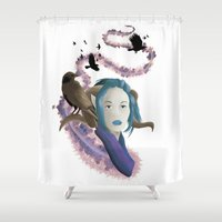 Crow Call Shower Curtain