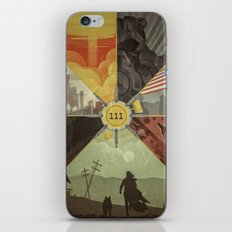 War Never Changes iPhone & iPod Skin