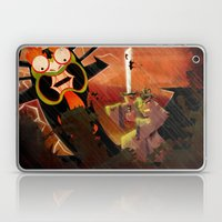 Jack Vs. Aku Laptop & iPad Skin
