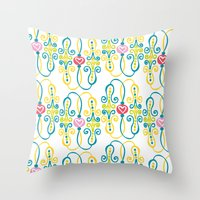 Lovelinks Throw Pillow