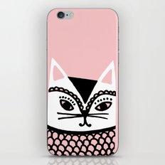 Katze #2 iPhone & iPod Skin