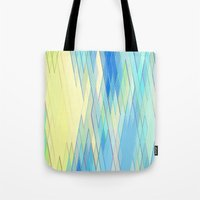 Re-Created Vertices No. 8 by Robert S. Lee Tote Bag