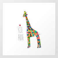 .jirafa. Art Print