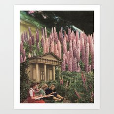 The Garden of Unearthly Delights Art Print