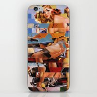 Glitch Pin-Up Redux: Zel… iPhone & iPod Skin