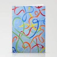 Dancing Joy Stationery Cards