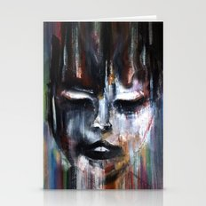 Paint a Gril Stationery Cards