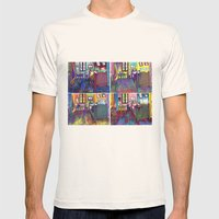 Gogh And I Mens Fitted Tee Natural SMALL