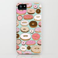 iPhone & iPod Case featuring Donut Wonderland by Kristin Nohe