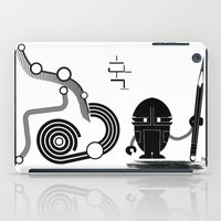 Robot Graffiti  iPad Case