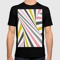 TwiangleQuatro Mens Fitted Tee Black SMALL