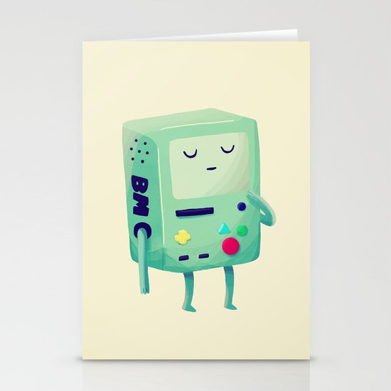 Who Wants To Play Video Games? Stationery Card