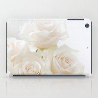 blush roses iPad Case