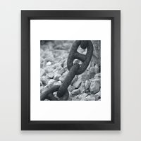 Chains Framed Art Print
