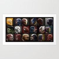 Marvelous Eighteen Art Print