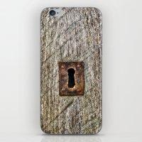 The Old Door Lock iPhone & iPod Skin