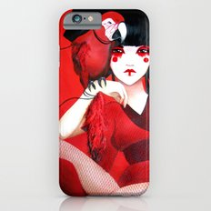 Kimiko the Geisha in Red iPhone 6s Slim Case
