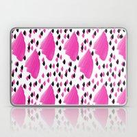 Purple Brush Pattern 2 Laptop & iPad Skin