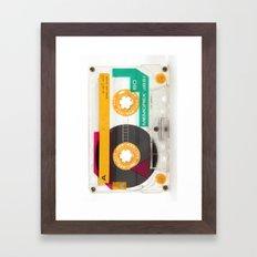 Memorex Tape Framed Art Print