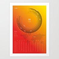 Bureau Oberhaeuser Calen… Art Print
