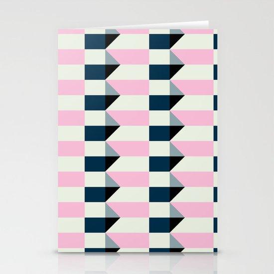 Crispijn Pink & Blue Stationery Card