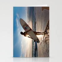 Surfer Girl Stationery Cards