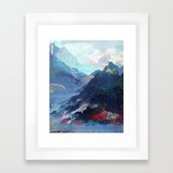 Untitled 20130913a (Land… Framed Art Print