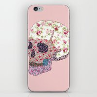 Liberty Skull iPhone & iPod Skin
