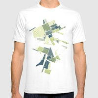 The Lower Field Mens Fitted Tee White SMALL