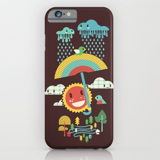 After the rain comes the rainbow iPhone & iPod Case