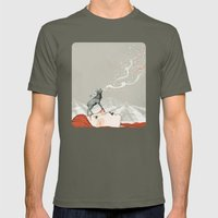 Deer Lady! Mens Fitted Tee Lieutenant SMALL