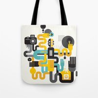 The photographer. Tote Bag