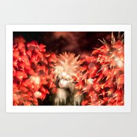 Fireworks - Philippines 9 Art Print