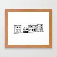 Traditional Settlement Framed Art Print