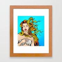 VENUS ARTPOP Framed Art Print